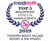 Award 5 Star Hotels in Kamala Beach Travelmyth Awards for Thavorn Beach Village Resort and Apa Phuket 2019