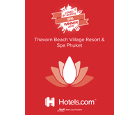 Award Winner Loved by Guests Hotels Spa Thavorn Beach Village Resort and Spa Phuket 2019