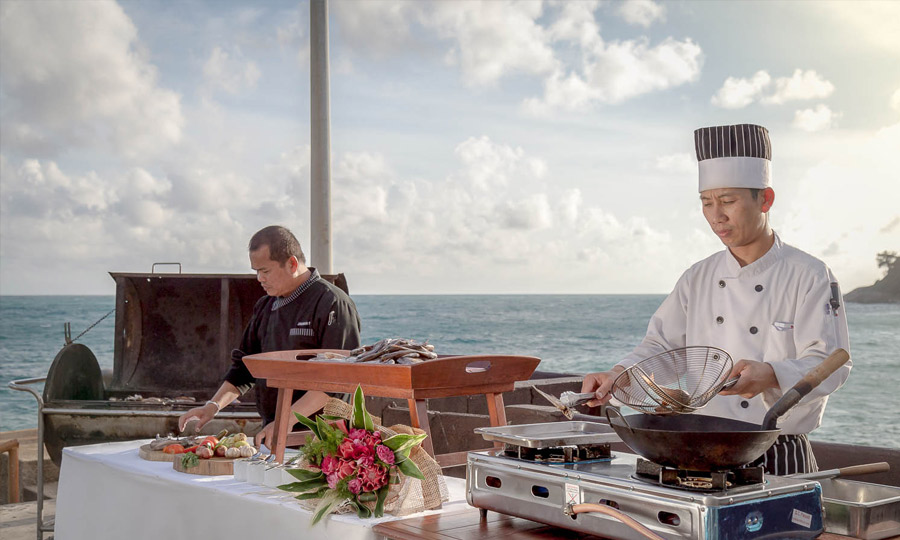 Phuket Private Fishing & Live Cooking