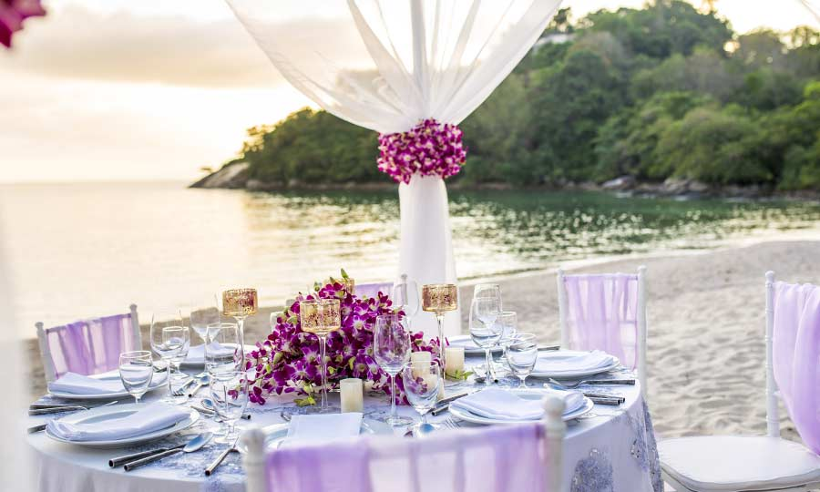 Phuket Beach Wedding Packages